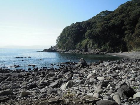 真鶴半島採石場跡