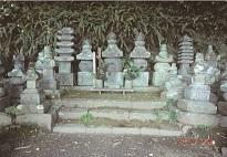 土肥一族墓所
