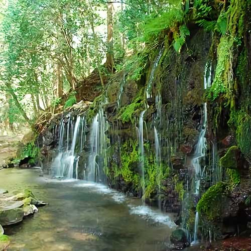 千条の滝イメージ