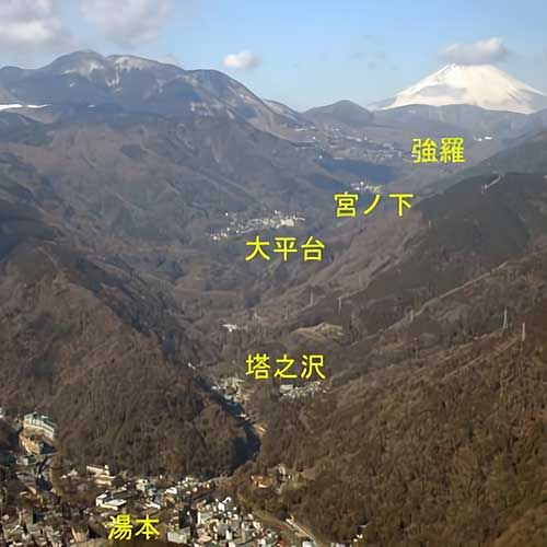 箱根温泉イメージ