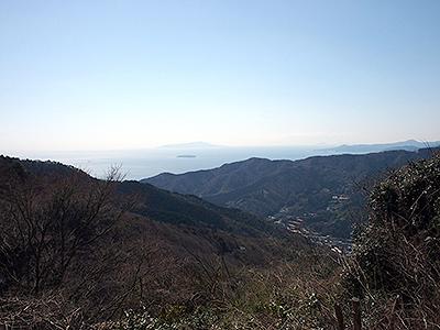 椿台・相模湾と伊豆半島の展望