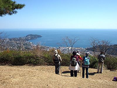 真鶴半島、相模湾、三浦・房総 半島の眺望
