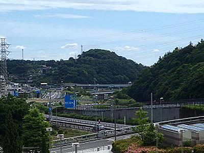 富士山砦を眺める(城郭ネットワーク)