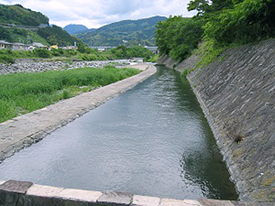 早川口遺構と小田原用水