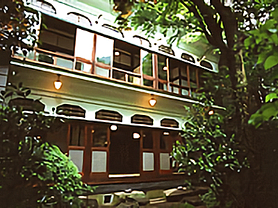 福住旅館外壁