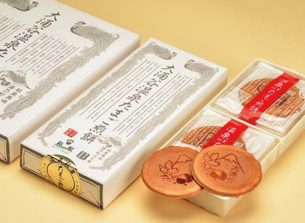 大涌谷温泉たまご煎餅