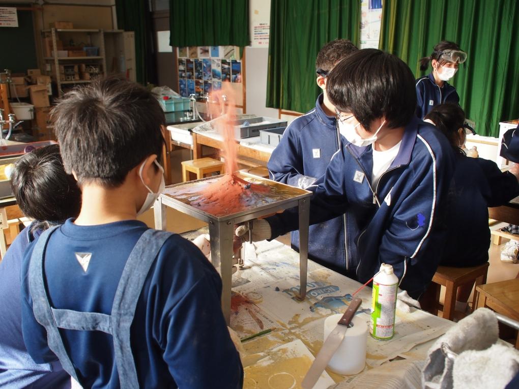 小田原市立白山中学校の総合学習