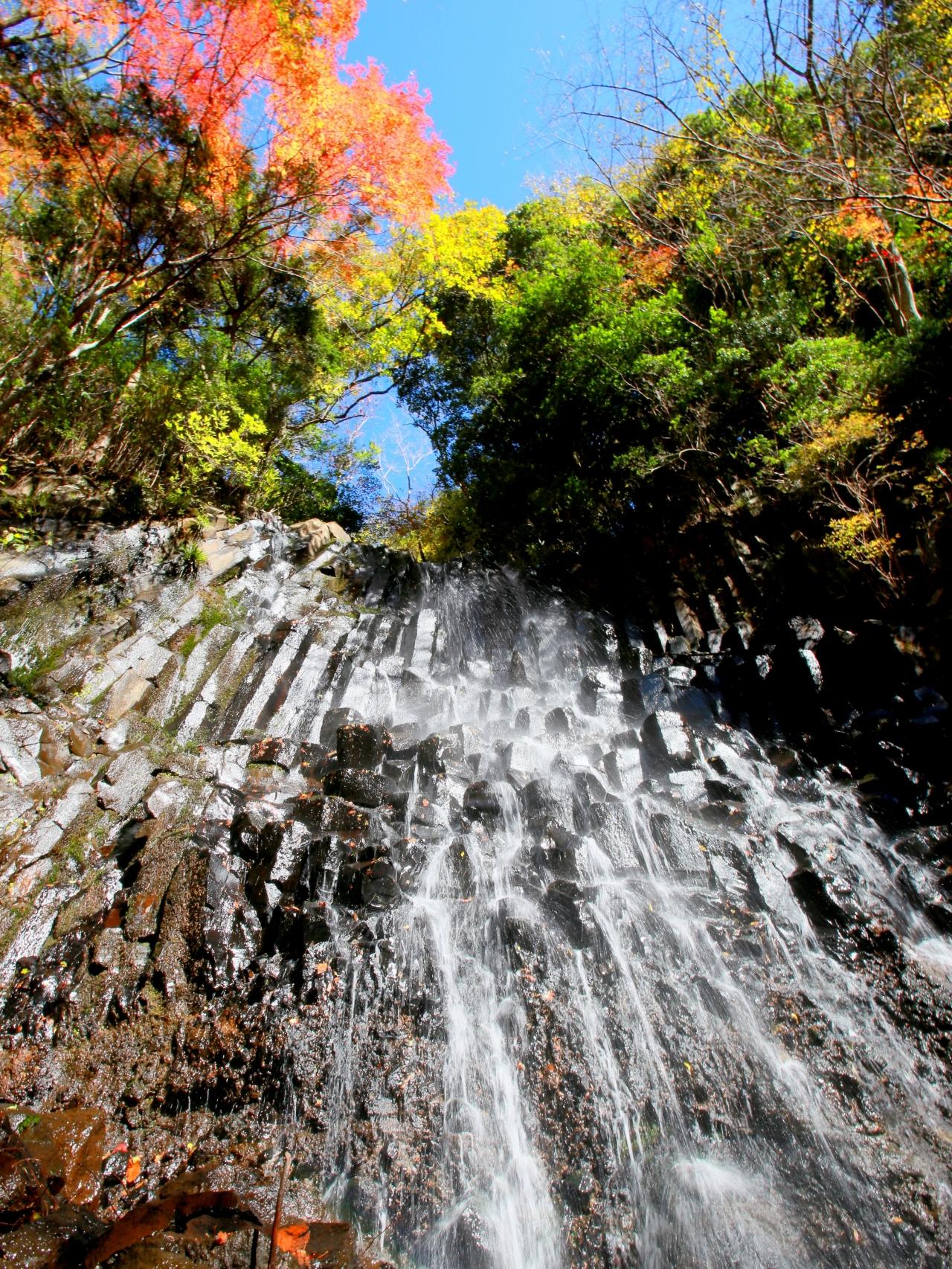 氏「秋の六方の滝」
